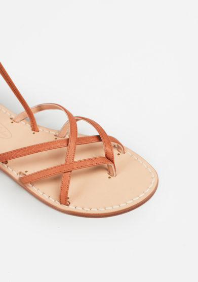 MARIO D'ISCHIA - Schiava leather sandals