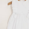 M. FERRARI - Girl's cotton dress with frills