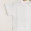 M.FERRARI - Baby linen bodysuit