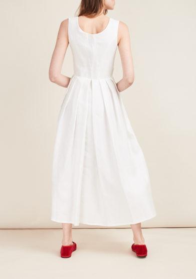 GIOIA BINI - Midi linen dress