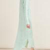 GIOIA BINI - Emma linen mint-green shirtdress
