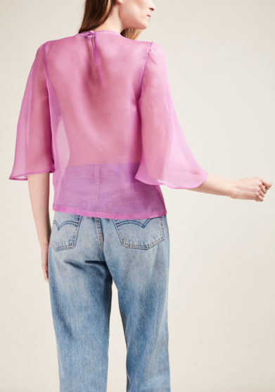 VIRTUOSA MUSE - Silk organza blouse