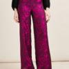STEPHAN JANSON - Printed wide-leg trousers