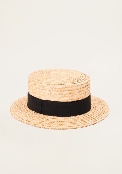 TABARRO - Venetian straw hat