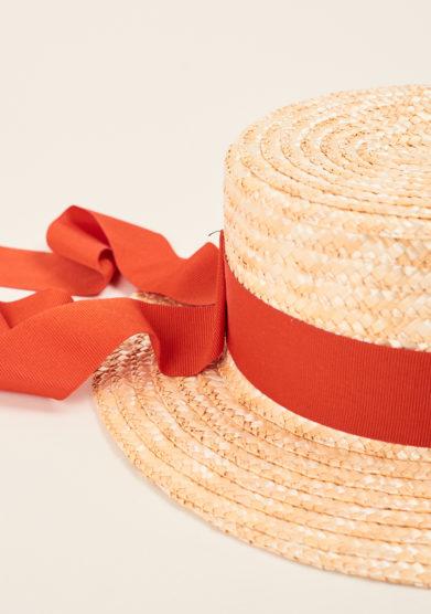 TABARRO SAN MARCO - Cappello bambina veneziano in paglia
