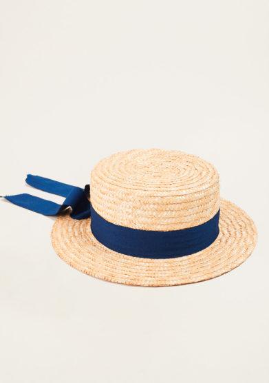 TABARRO SAN MARCO - Boy's venetian straw hat