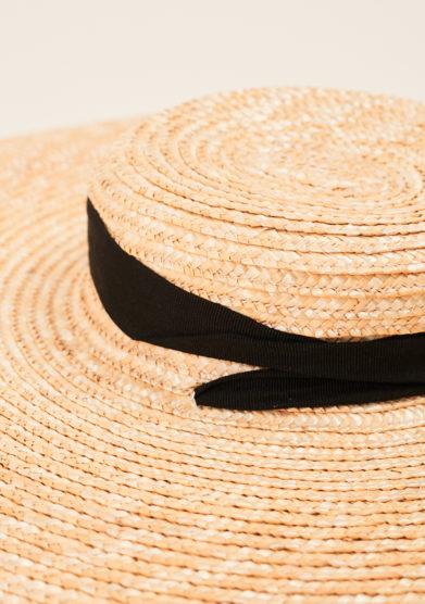 TABARRO SAN MARCO - Solana straw hat