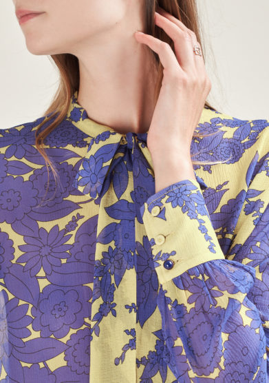 MANTERO 1902 - Printed silk shirt