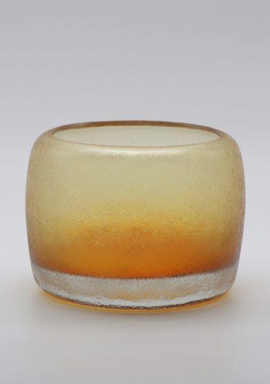 MICHELUZZI GLASS - Bronze Pozzo vase
