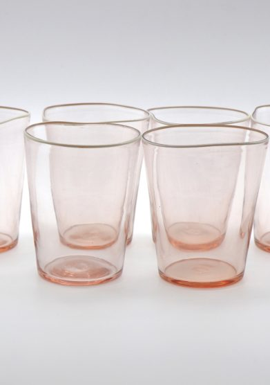 MICHELUZZI GLASS - Mosso rosè glasses (set of 6)