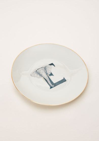 DALWIN DESIGNS - Animal Alphabet dessert plate