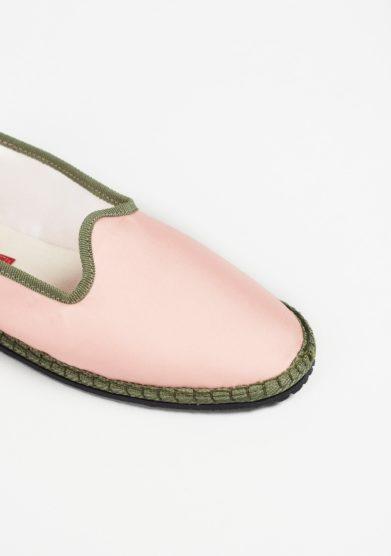 Furlane Georgina scarpe basse vibi seta mikado rosa