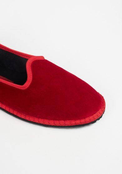Scarpe furlane velluto vibi venezia rosse