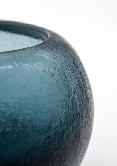 vaso bocia blu oceano piccolo micheluzzi glass