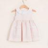BARONI - Girl's pink cherry petal dress