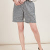 MATTA E GOLDONI - Black and white striped shorts