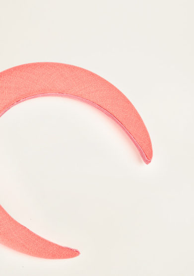 BLUETIFUL - Coral linen headband