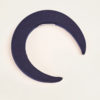 BLUETIFUL - Blue linen headband