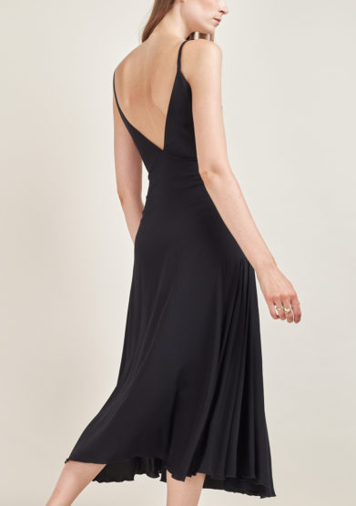 CAFTANII FIRENZE - Maya silk midi dress