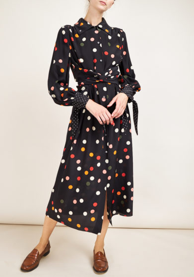 LE VERNISSE - Coccinella Giraffe Dress