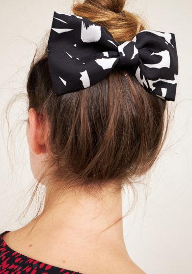 VERNISSE - Hairbow Sandy pop graffiti black