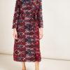 CARLOTTA CANEPA - Jaquard wool coat