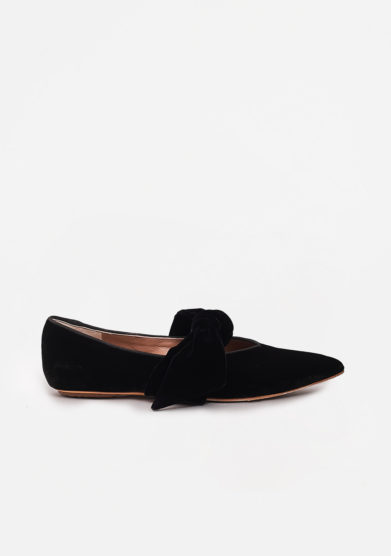GIA COUTURE - Suede ballet flats