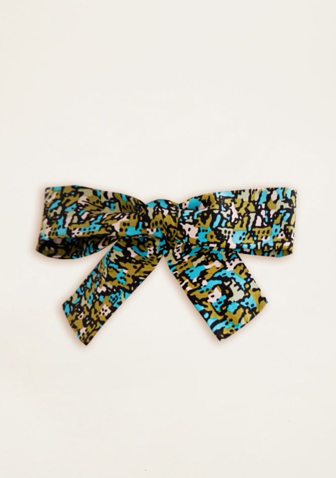 VERNISSE - Chloe hairbow in jungle camouflage