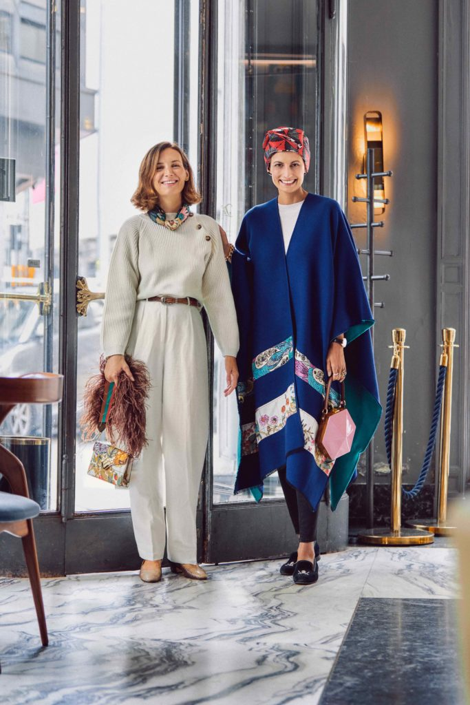 Luisa Bertoldo and Helen Nonini for The Dressing Screen
