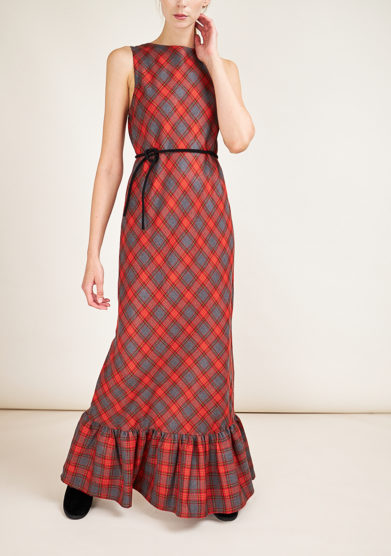 STEPHAN JANSON - Long checked Hubert dress
