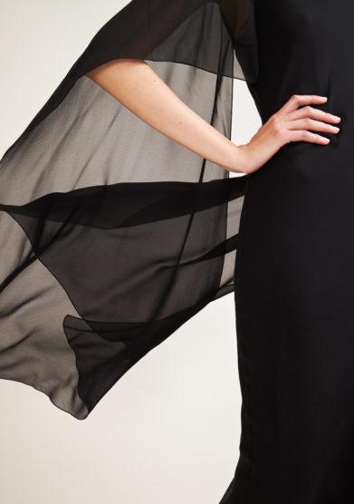 STEPHAN JANSON - Longuette Voiles silk dress