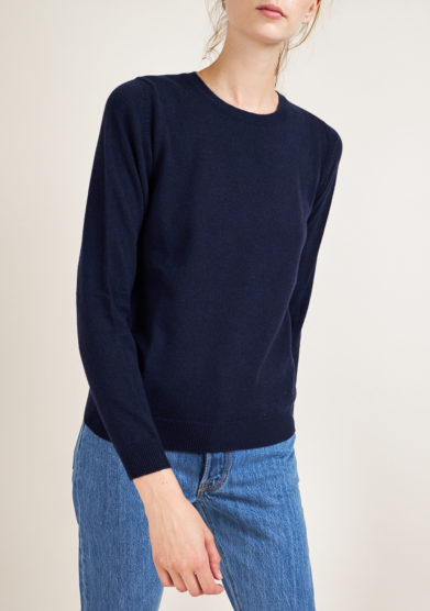 ALYKI - Blue cashmere sweater