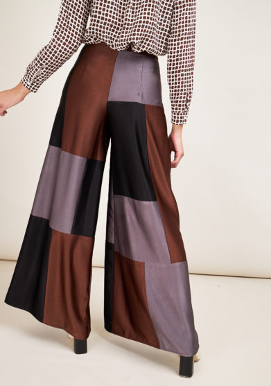 STEPHAN JANSON - Wide leg Piet cadì trousers