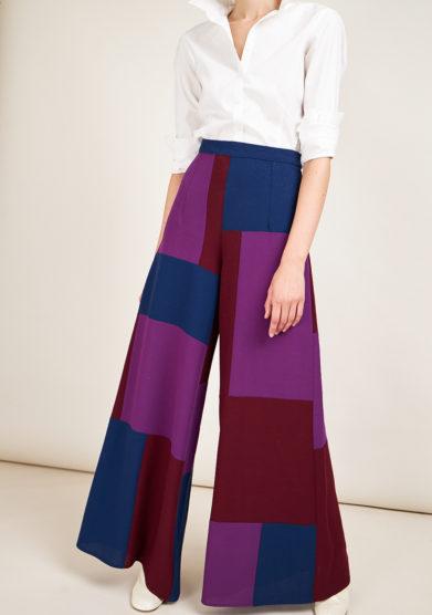 STEPHAN JANSON - Wide leg Piet wool trousers