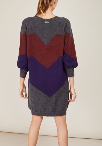 ARCHIVIO B -Grey merino dress