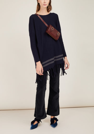ARCHIVIO B - Fringed wool sweater