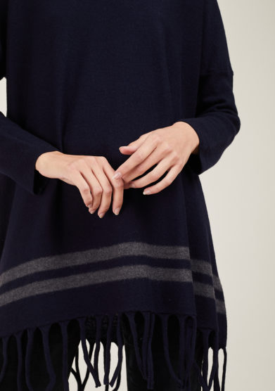 ARCHIVIO B - Fringed wool sweater