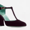 PAOLA D'ARCANO - Plum pumps with round toe