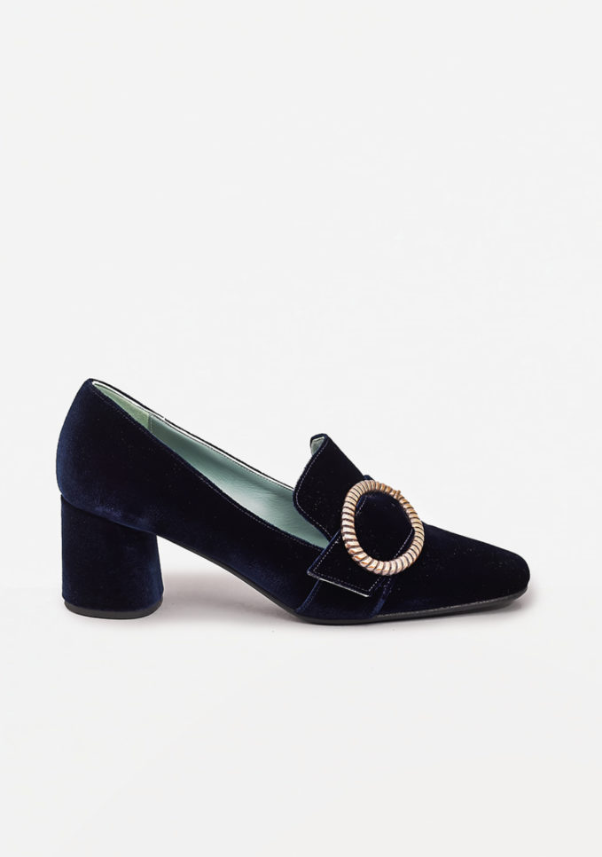 PAOLA D'ARCANO - Buckle embellished pumps