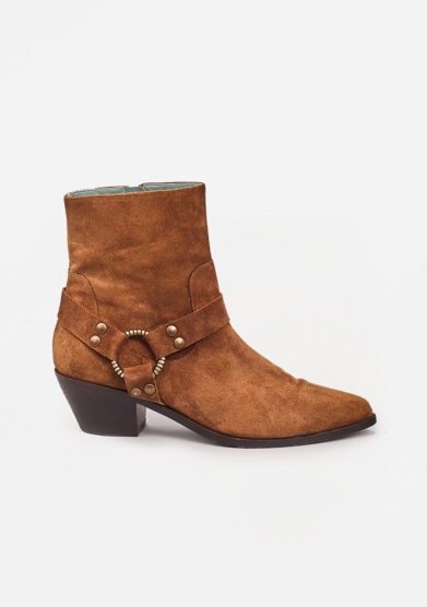 PAOLA D'ARCANO - Suede pointed boots