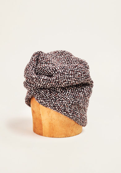 Altalen - Brown wool turban
