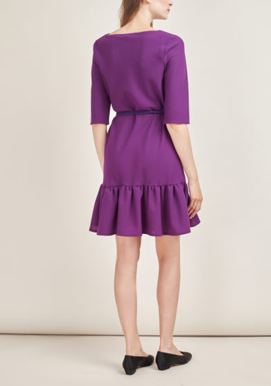 STEPHAN JANSON - Short wool Atelier dress