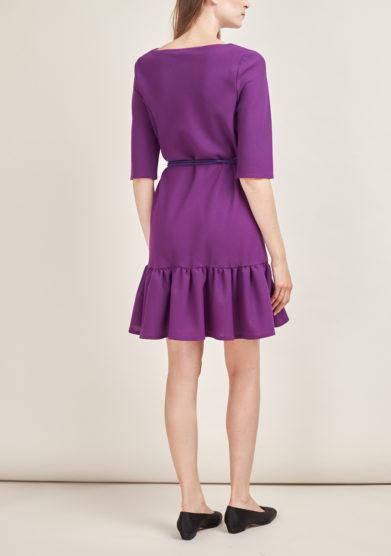 STEPHAN JANSON - Short wool Atelier dress