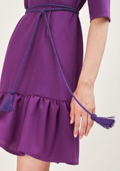 STEPHAN JANSON - Purple Shirat tie belt