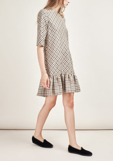 STEPHAN JANSON - Short checked Atelier dress