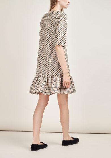 STEPHAN JANSON - Short checked Atelier dress