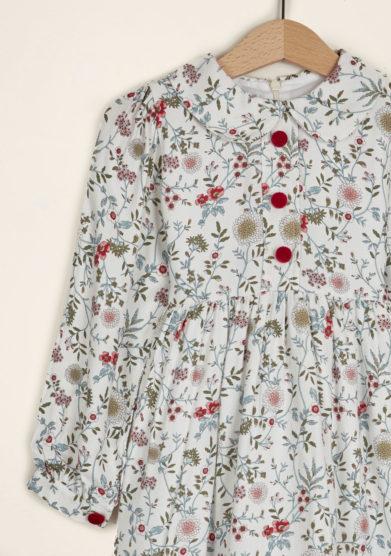 I MARMOTTINI - Girl's hawthorn printed dress