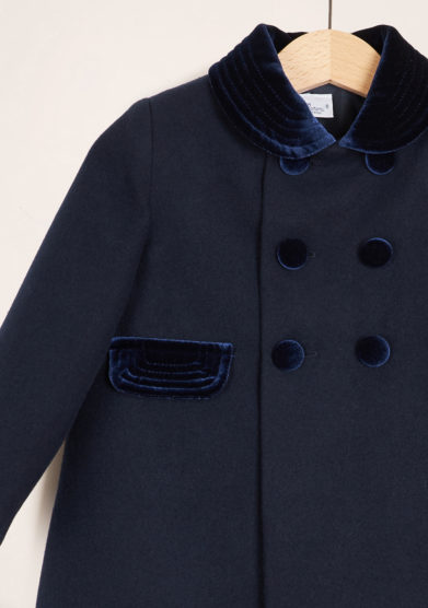BARONI - English style blue coat