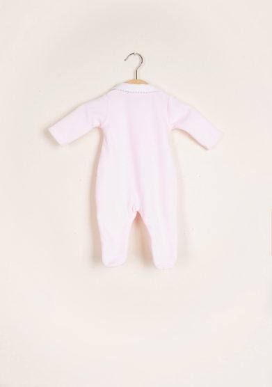 BARONI - Pink chenille jumpsuit