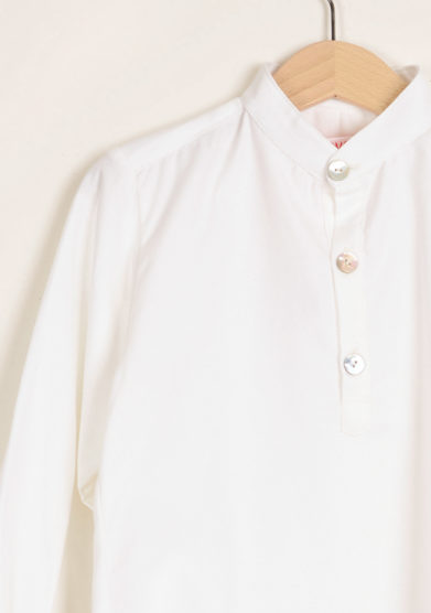 I MARMOTTINI - Boy's Mandarin collar shirt